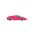 Sport car Icon vector image
