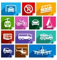 Transport flat icon bright color-06 vector image vector image