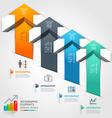 3d arrow business infographics
