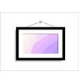 abstract photo nature paintings hang vector image vector image