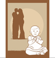 Baby Couple vector image