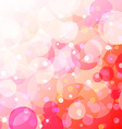 Bubbly fun over gradient background vector image