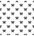 butterfly wing patterns icon simple style vector image