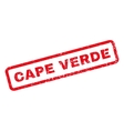 Cape Verde Rubber Stamp vector image vector image