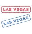 las vegas textile stamps vector image