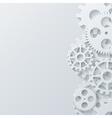 modern mechanism industrial concept vector image vector image