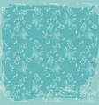 vintage fauna seamless pattern vector image