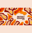 abstract paper cut background paper decoration vector image vector image