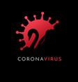 black swan coronavirus covid19 19 vector image vector image