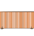 board fence house real estate vector image vector image