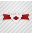 canada day festive red tag vector image vector image