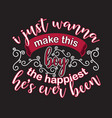 couple quotes and slogan good for t-shirt i just vector image