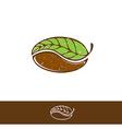 Green Coffee and Tea Logo vector image