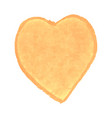heart shape drawn with yellow