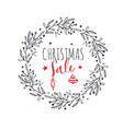 merry christmas and new year words vector image vector image