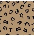 Seamless pattern of jaguar spots Natural textures vector image vector image
