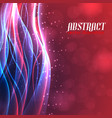 Shiny energy abstract background vector image