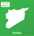 syria map icon business concept syria pictogram vector image vector image