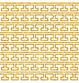 tile decorative floor gold and white tiles greek vector image vector image