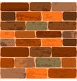 of a brick wall vector image