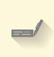 Cheque icon vector image