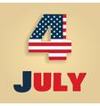 4 july amerika vector image vector image