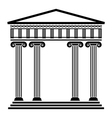 ancient architecture vector image vector image