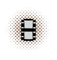 Film strip comics icon vector image