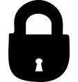 lock icon lock icon vector image