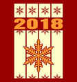 new year and christmas celebration card vector image vector image