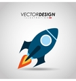 start-up icon design vector image vector image