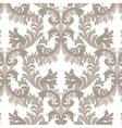 Vintage Rich Baroque floral Damask pattern vector image vector image