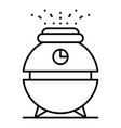water humidifier icon outline style vector image vector image