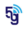 5g network logo logo network 5g connection eps vector image vector image