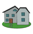 family home or house icon image vector image