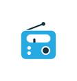 radio colorful icon symbol premium quality vector image vector image