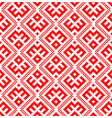 seamless pattern based on traditional russian and vector image vector image