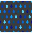 Blue Tone Rain Gray Background vector image