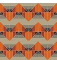 Geometric Grey Pattern vector image vector image