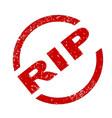 rip vector image