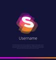 s-monogram-logo vector image