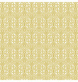 seamless golden pattern in oriental style vector image vector image