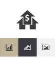 set of 4 editable analytics icons includes vector image
