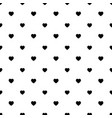 simple heart shape seamless pattern in diagonal vector image vector image