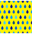 Blue Tone Rain Yellow Background vector image vector image