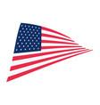 national emblem american flag vector image