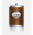 Stainless hip flask vector | Price: 3 Credits (USD $3)