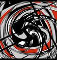 beautiful abstract dark graffiti pattern vector image vector image