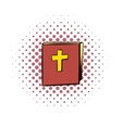 Bible comics icon vector image vector image