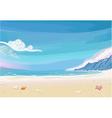 Paradise Beach Lagoon Landscape vector image vector image